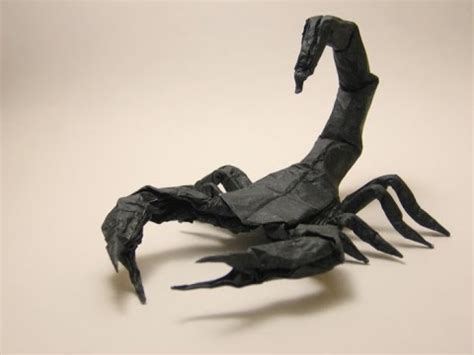 How To Make An Origami Scorpion - origami scorpion robert j lang