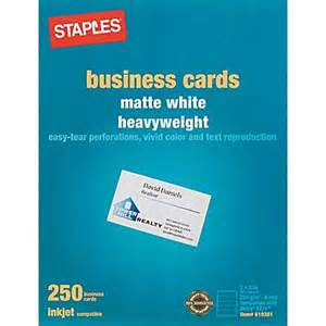 inkjet business card paper staples 174 inkjet business cards staples 174