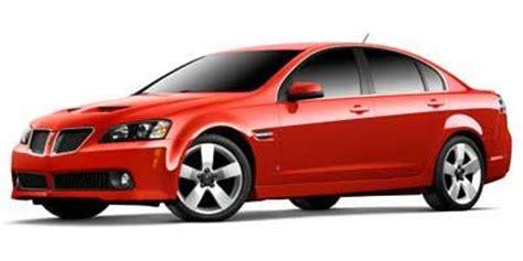 2008 pontiac g8 v6 horsepower 2008 pontiac g8 values nadaguides