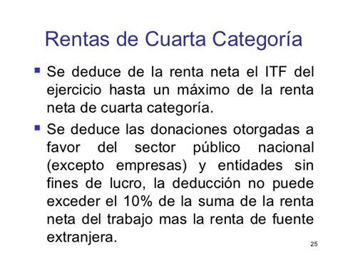determinacion del impuesto a la renta cuarta categoria 2016 tema 9 determinaci 243 n del impuesto a la renta para las