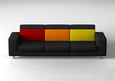Sofa Design by Bellagio Tre Three Seater Sofa Design By Omc