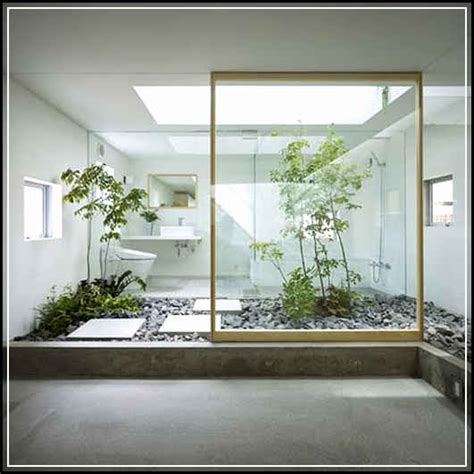membuat rumah terasa sejuk desain taman dalam rumah yang indah dan minimalis