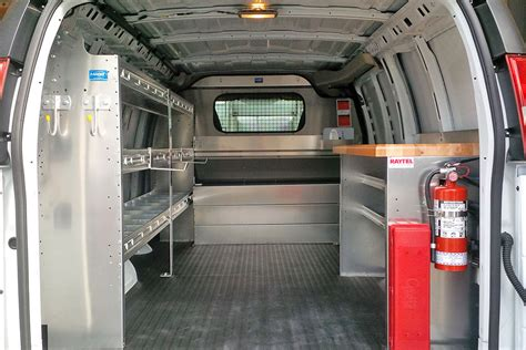van work bench raytel