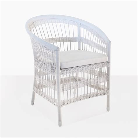 White Wicker Dining Chairs White Wicker Dining Chair Outdoor Furniture Design Warehouse Nz