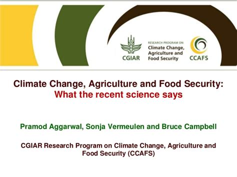 agriculture climate change and food security in the 21st century our daily bread books climate change agriculture and food security what the