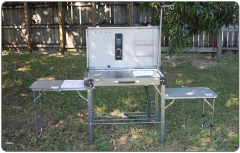 Lewis And Clark Fold And Go C Kitchen by Rv Net Open Roads Forum Outdoor Table W Sink