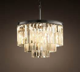 Glass Chandelier Deco Style Glass Chandelier Decoist