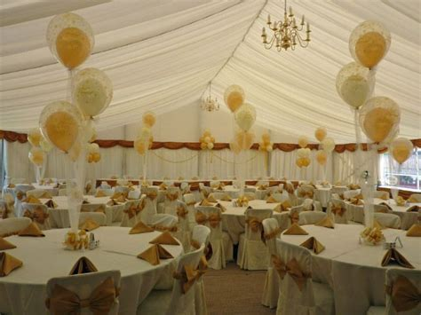 Balloons for Wedding Reception   Balloon decorations