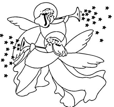 coloring pages angels singing christmas angels colouring pictures and clip art images photos