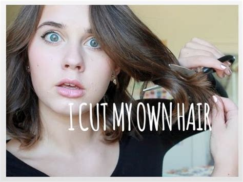 i cut my hair and i cut my hair hair hair hair i finally cut