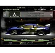 NFS Underground 2 My Cars  YouTube