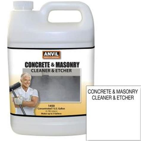 anvil 1 gal concrete and masonry cleaner etcher