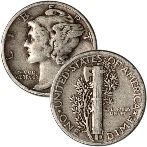 90 silver mercury dimes roll of 50 5 face value ebay