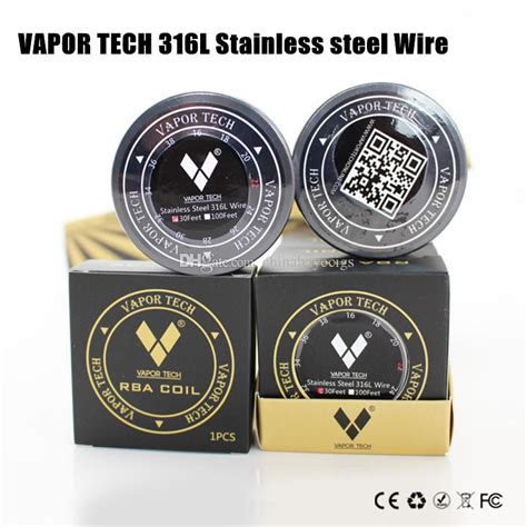 Authentic Vaportech Ss316l 28 Ga 30 Vapor Tech Ss Wire Ivs1348 authentic vapor tech 316l stainless steel wire high resistance ss316 heating wire 26 28 30gauge