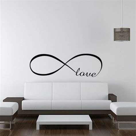 Wall Sticker Infinity Home Decal Room Decor 1 infinity symbol words wall sticker vinyl bedroom wall