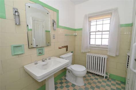 Retro Bathroom Flooring Charming 1930 Tudor Revival Time Capsule House With