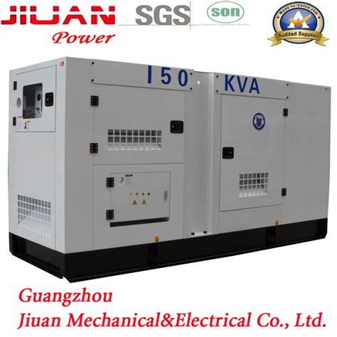 Genset Silent 150 Kva Cummins Stamford silent generator 150 kva diesel max power generator with automatic voltage regulator buy