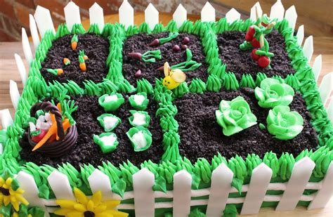 vegetable garden cake how to make a vegetable garden cake