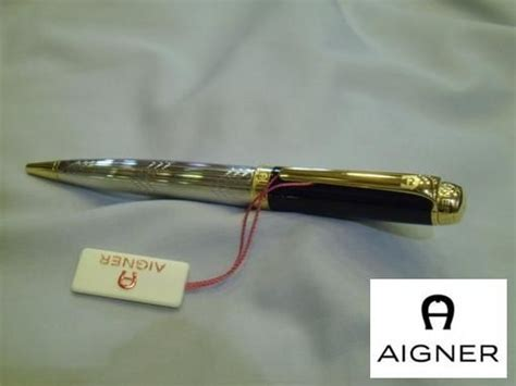 Aigner Bari Silver Black buy aigner pen for black gold silver accessories