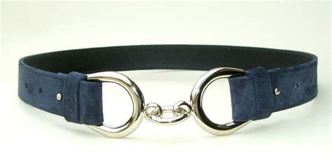 mens or womens individual hair on cowhide belts