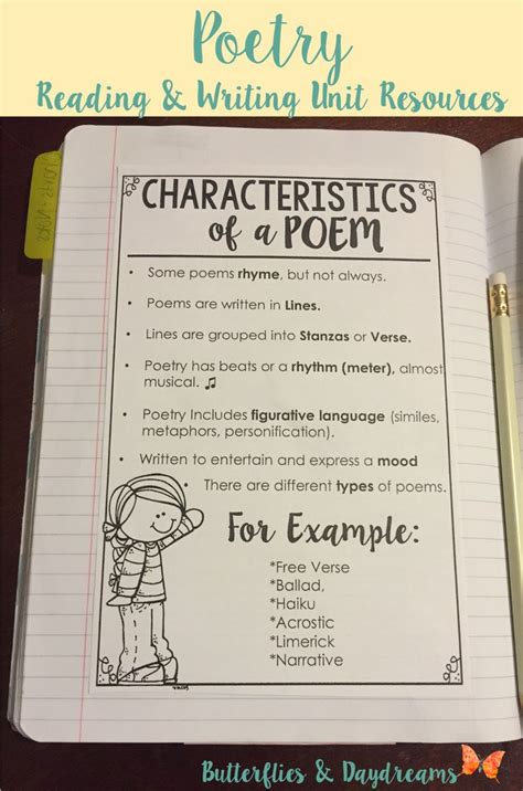 a poem 25 best ideas about teaching poetry on poetry