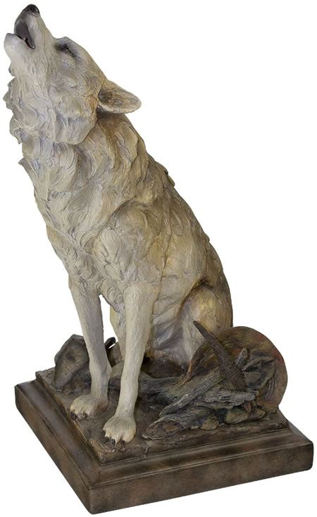 call   wild howling wolf sculpture mill creek studios  products