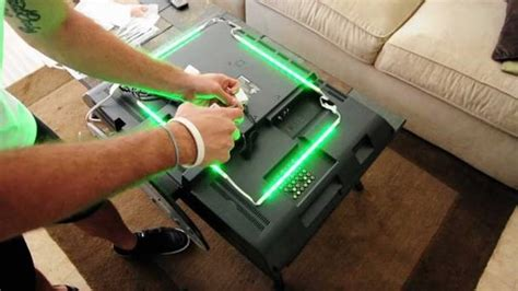 using led light strips your television