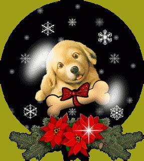 imagenes animadas  perritos  navidad
