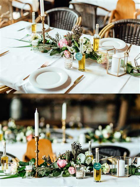 Goldene Hochzeit Tischdeko by Unsere Goldene Hochzeitsdeko In Der Scheune The Kaisers