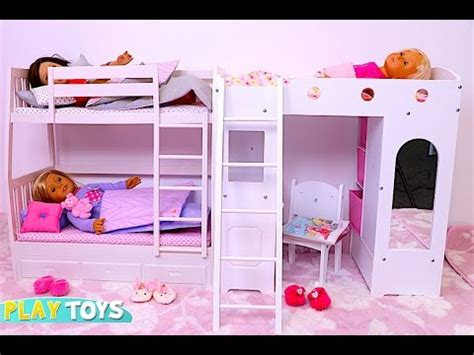 baby doll house baby doll bunk bed bedroom house toy play doll wardrobe closet and dress up dolls