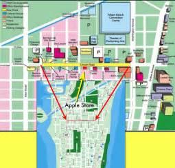 Miami South Beach Map by Miami Beach Tourist Map Near Miami Beach Convention