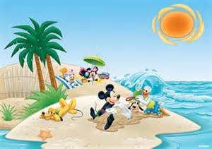 Fathead Wall Murals disney mickeys beach life mural