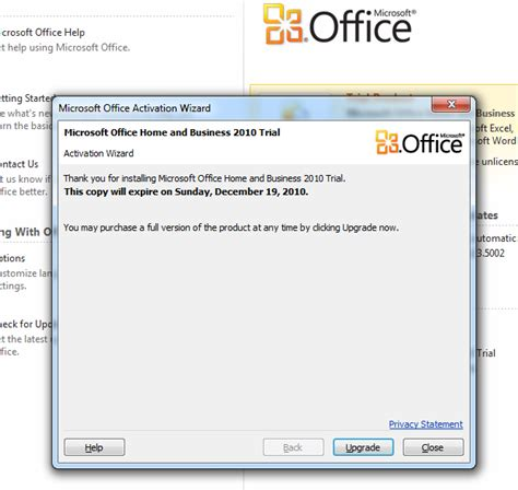 Microsoft Office 2010 Trial by Microsoft Office 2010 Trial Version Product Key
