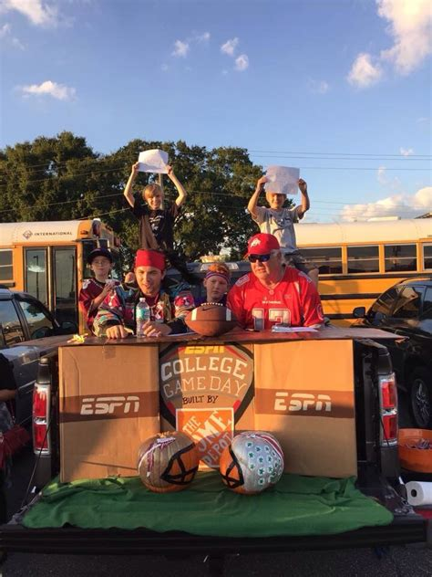 trunk  treat college game day style   pick