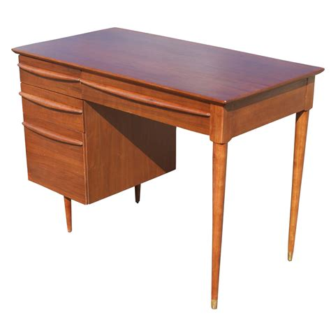 vintage danish teak desk 3ft vintage flanders danish style teak desk