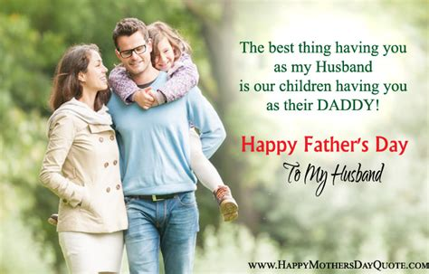 fathers day quotes from to husband happy fathers day messages from to husband