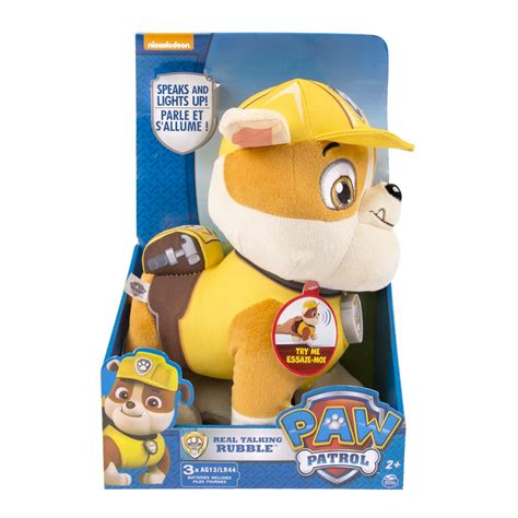 spin master paw patrol paw patrol real talking rubble spin master paw patrol paw patrol real talking rubble