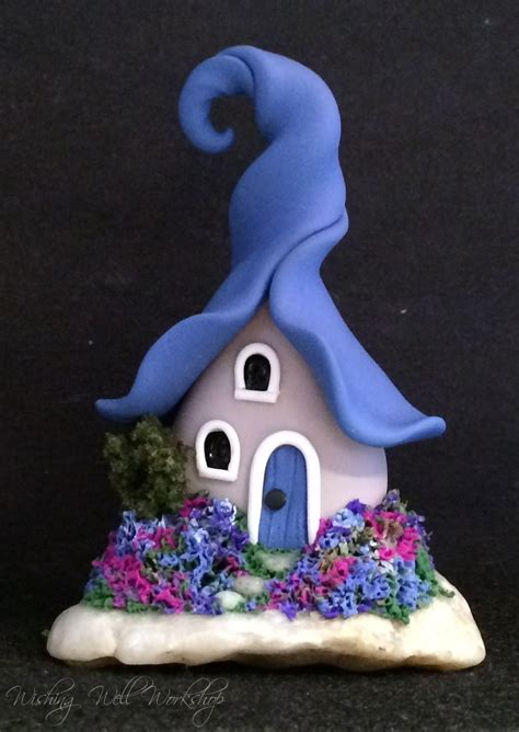 polymer clay craft projects polymer clay blue house by missfinearts on deviantart