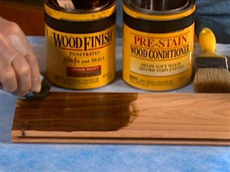 how to protect wood table from water tips on staining wood diy