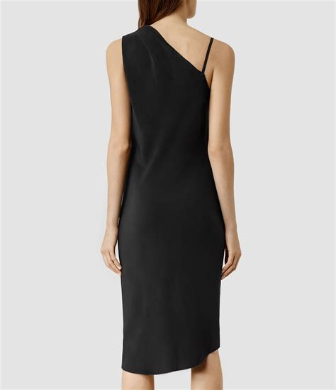 All Saints Tornquist Dresses by Lyst Allsaints Precie Dress In Black