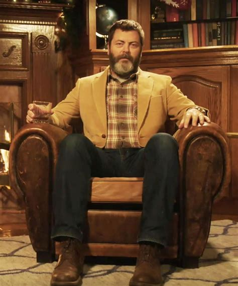 nick offerman drinking whiskey 45 minutes of nick offerman drinking whisky in front of a