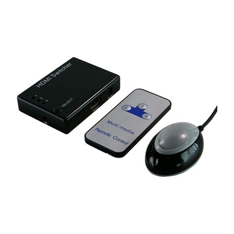 Switcher Hdmi Remote Mini 3port 1 hdmi switch 3port logilink hd0003 eol