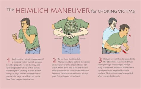 heimlich maneuver the heimlich maneuver stuff about health the o jays