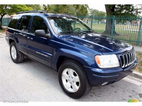 blue jeep grand cherokee 2001 patriot blue pearl 2001 jeep grand cherokee limited 4x4