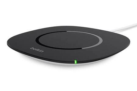 chargeur pour iphone belkin chargeur a induction qi darty