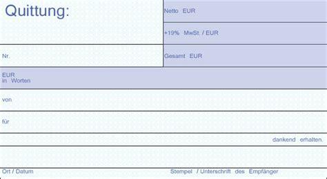 Word Vorlage Quittungsbeleg Steuertipp Kleinbetragsrechnungen F 252 R Kleinunternehmer Sibille Decker Ihr Steuerberater In