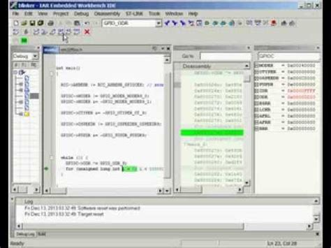 iar work bench stm32f0 discovery coocox tutorial part 1 doovi