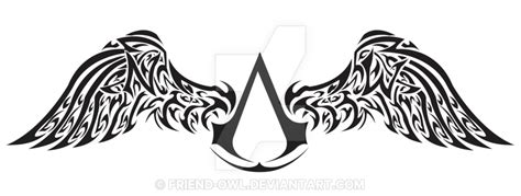 northwest assassins tribal by friend owl on deviantart