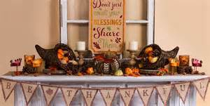 Thanksgiving Home Decorations by Thanksgiving Home Decor Party City