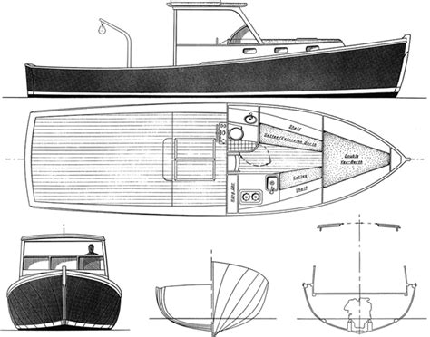 lobster boat diy lobster boat plan build a boat with your kids in the